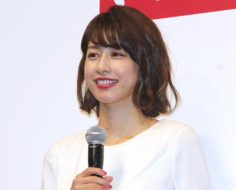 『平成31年用年賀状引受セレモニー』に登壇した加藤綾子 (C)ORICON NewS inc.