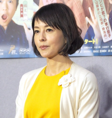 BS時代劇『小吉の女房』の試写会に出席した沢口靖子 (C)ORICON NewS inc.