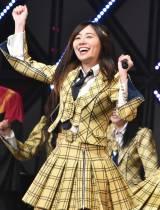 M14「センチメンタルトレイン」の松井珠理奈=『第8回AKB48紅白対抗歌合戦』より(C)ORICON NewS inc.