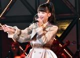 M4:NGT48「世界の人へ」の荻野由佳=『第8回AKB48紅白対抗歌合戦』より(C)ORICON NewS inc.