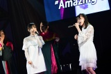 M50「Amazing Grace」(左から)歌田初夏、立仙愛理=『第8回AKB48紅白対抗歌合戦』より(C)AKS