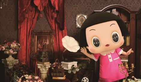 チコちゃん初書籍『チコっと冒険First Eternal Five CHICOチコちゃんに叱られる!ビジュアルファンブック』(12月18日発売)「チコっとじゃねえよ! 100の質問」書中画像(C)NHK
