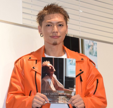 『BYAKUYA』発売記念イベントを行ったSHOKICHI (C)ORICON NewS inc.