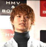 『M!LK OFFICIAL CALENDAR M!!!!!!!LK』の発売記念イベントに出席した佐野勇斗 (C)ORICON NewS inc.
