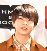 『M!LK OFFICIAL CALENDAR M!!!!!!!LK』の発売記念イベントに出席した塩崎太智 (C)ORICON NewS inc.