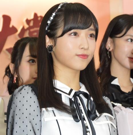 『第60回日本レコード大賞』の記者会見に出席したAKB48・小栗有以 (C)ORICON NewS inc.
