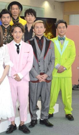 『第60回日本レコード大賞』の記者会見に出席したDA PUMP (C)ORICON NewS inc.