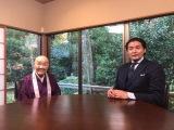 来年1月2日放送『新春しゃべくり007 4時間半 SP』で貴乃花瀬戸内寂聴のもとへ (C)日本テレビ