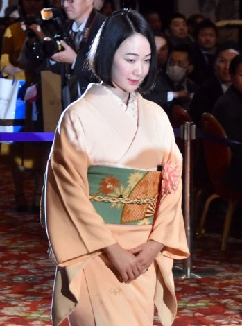 『第43回 報知映画賞』授賞式に出席した黒木華 (C)ORICON NewS inc.