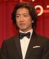 映画『マスカレード・ホテル』完成披露試写会に出席した木村拓哉 (C)ORICON NewS inc.