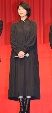 映画『マスカレード・ホテル』完成披露試写会に出席した松たか子 (C)ORICON NewS inc.