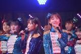(左から)指原莉乃、宮脇咲良=『HKT48コンサート〜今こそ団結!ガンガン行くぜ8年目!〜』 (C)ORICON NewS inc.