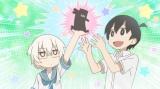 テレビアニメ『上野さんは不器用』第3弾PVの場面カット (C)tugeneko・白泉社/上野さんは不器用製作委員会