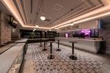 「Live & Restaurant LDH kitchen THE TOKYO HANEDA」バースペース