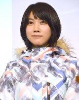 『JR SKISKIキャンペーン』の記者発表会に出席した松本穂香 (C)ORICON NewS inc.
