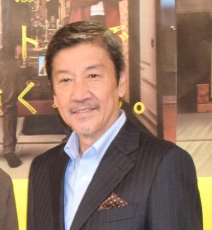 NHK総合の土曜ドラマ『母、帰る〜AIの遺言〜』の記者会見に出席した奥田瑛二 (C)ORICON NewS inc.