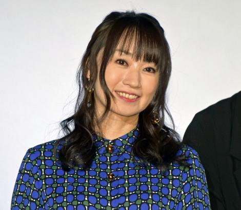 映画『ふたつの昨日と僕の未来』公開初日舞台あいさつに登壇した水樹奈々(C)ORICON NewS inc.