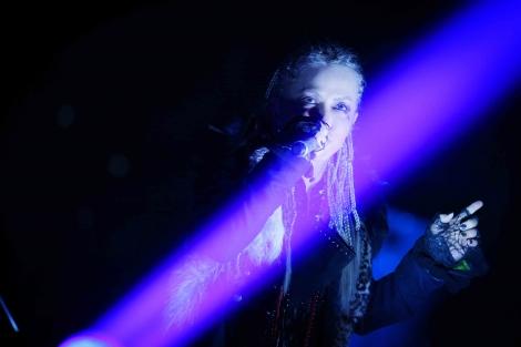 L'Arc〜en〜Cielのhyde(Vo)=『LIVE 2018 L'ArChristmas』初日公演より Photo by 今元秀明、岡田貴之、緒車寿一、加藤千絵、田中和子