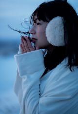 北野日奈子1st写真集『空気の色』が発売前に2度目の重版が決定(撮影:藤本和典)