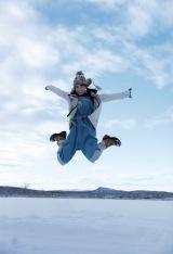 北野日奈子1st写真集『空気の色』セブンネット限定版裏表紙(撮影:藤本和典)