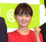 『2019年 JRA 新CM発表会』に参加した葵わかな (C)ORICON NewS inc.