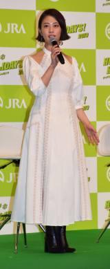 『2019年 JRA 新CM発表会』に参加した高畑充希 (C)ORICON NewS inc.