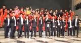 デビューシングル「泣かせてくれよ」の発売記念イベントを開催した吉本坂46 (C)ORICON NewS inc.