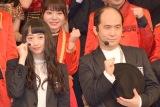デビューシングル「泣かせてくれよ」の発売記念イベントに出席した(左から)小川暖奈、斎藤司 (C)ORICON NewS inc.