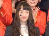 デビューシングル「泣かせてくれよ」の発売記念イベントに出席した小川暖奈 (C)ORICON NewS inc.