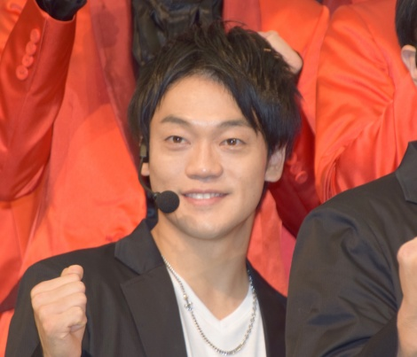 デビューシングル「泣かせてくれよ」の発売記念イベントに出席したおばたのお兄さん (C)ORICON NewS inc.