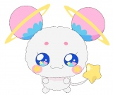 『スター☆トゥインクルプリキュア』の登場キャラ・妖精のフワ(C)ABC-A・東映アニメーション