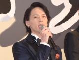 『映画刀剣乱舞』の完成披露舞台あいさつに出席した北村諒 (C)ORICON NewS inc.