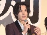 『映画刀剣乱舞』の完成披露舞台あいさつに出席した和田雅成 (C)ORICON NewS inc.