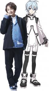 超次元革命アニメ『Dimensionハイスクール』で水上ゆりお役を演じる橋本祥平