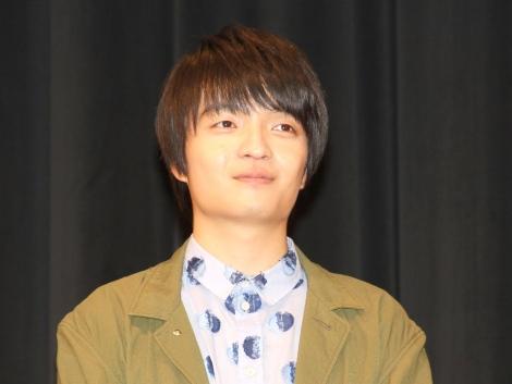 ドラマ『ゆうべはお楽しみでしたね』制作発表会に出席した岡山天音 (C)ORICON NewS inc.