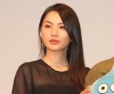 ドラマ『ゆうべはお楽しみでしたね』制作発表会に出席した芦名星 (C)ORICON NewS inc.