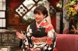 来年1月2日放送の『新春大売り出し!さんまのまんま』に出演する石原さとみ (C)カンテレ