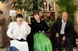 来年1月3日放送の『よく元気でいられますね!?』に出演する柳原可奈子、小峠英二、若槻千夏 (C)フジテレビ