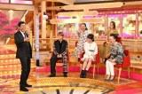 TBS 『爆笑!明石家さんまのご長寿グランプリ2018』より平野紫耀と滝沢カレンが珍解答を連発した(C)TBS