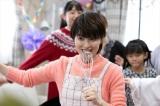 2019年1月26日放送、NHK・BSプレミアム『ネット歌姫 〜パート主婦が、歌ってみた〜』ネットスターになった主婦を演じる荻野目洋子 (C)ORICON NewS inc.