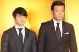 『第31回日刊スポーツ映画大賞』授賞式に出席した(左から)徳重聡、神田穣 (C)ORICON NewS inc.