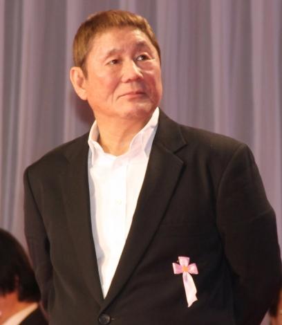 『第31回日刊スポーツ映画大賞』授賞式に出席した北野武 (C)ORICON NewS inc.