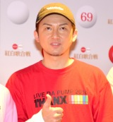 『第69回NHK紅白歌合戦』のリハーサルに参加したDA PUMP・ISSA (C)ORICON NewS inc.