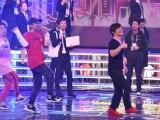 『第69回NHK紅白歌合戦』のリハーサルに参加した(左から)DA PUMP・ISSA、内村光良 (C)ORICON NewS inc.
