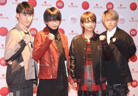 Sexy Zone(左から)マリウス葉、中島健人、佐藤勝利、菊池風磨(C)ORICON NewS inc.