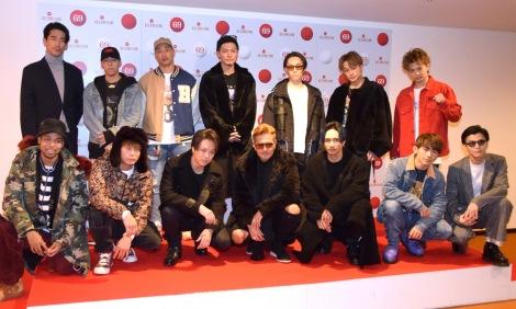 『第69回NHK紅白歌合戦』のリハーサルに参加したEXILE (C)ORICON NewS inc.