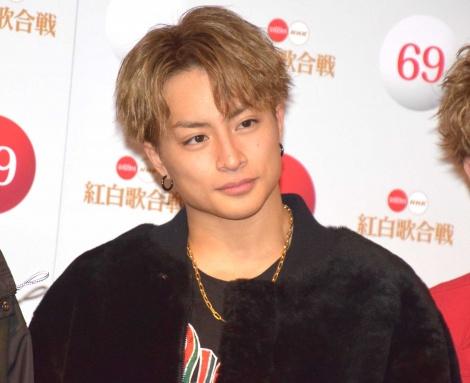 『第69回NHK紅白歌合戦』のリハーサルに参加した白濱亜嵐 (C)ORICON NewS inc.
