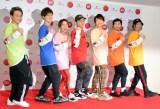『第69回NHK紅白歌合戦』のリハーサルに参加したDA PUMP(左から)KIMI、YORI、DAICHI、ISSA、KENZO、U-YEAH、TOMO (C)ORICON NewS inc.