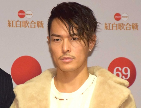 『第69回NHK紅白歌合戦』のリハーサルに参加した今市隆二 (C)ORICON NewS inc.