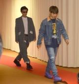『第69回NHK紅白歌合戦』のリハーサルに参加した(左から)岩田剛典、NAOTO (C)ORICON NewS inc.